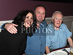 Brian and Ciaran Judge and Caroling Grogan at The Newtown Blues dinner dance in the Westcourt Hotel. Photo:Colin Bell/pressphotos.ie