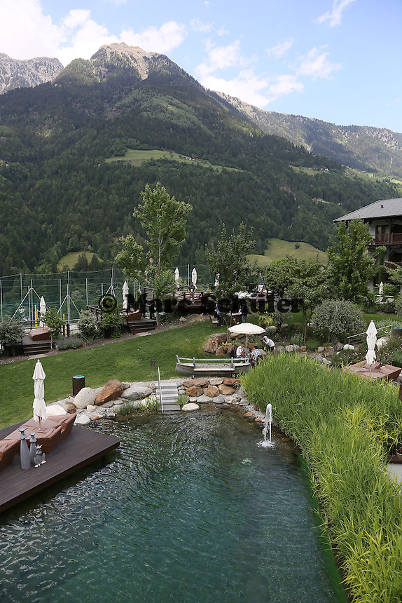 Media Day im Garten des Golf-Hotels Andreus - Media Day der Deutschen Nationalmannschaft zur WM-Vorbereitung in St. Martin