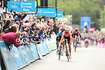 Greg Van Avermaet (BEL) CCC Team wins Stage 4 while Christopher Lawless (GBR) Team Ineos wins the overall general classification at the end of the 2019 Tour de Yorkshire, running 175km from Halifax to Leeds, Yorkshire, England. 5th May 2019.<br /> Picture: ASO/SWPix | Cyclefile<br /> <br /> All photos usage must carry mandatory copyright credit (&copy; Cyclefile | ASO/SWPix)