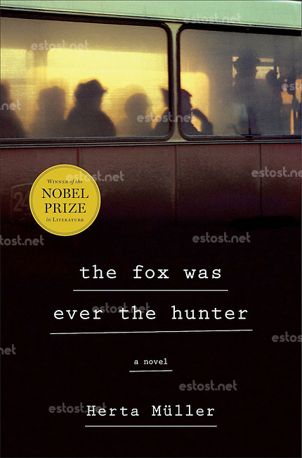 Henry Holt publishing house, USA: book cover &quot;Herta M&uuml;ller - the fox was ever the hunter&quot;.<br />