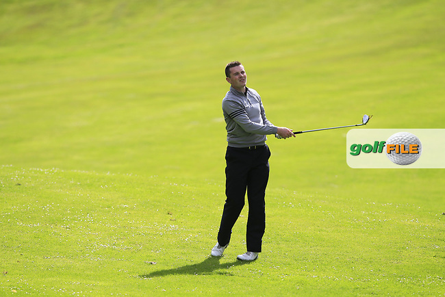 Stephen Healy (The Royal Dublin) on the 14th during Round 4 of the Connacht Stroke Play Championship at Athlone Golf Club Sunday 11th June 2017.<br /> Photo: Golffile / Thos Caffrey.<br /> <br /> All photo usage must carry mandatory copyright credit     (&copy; Golffile | Thos Caffrey)