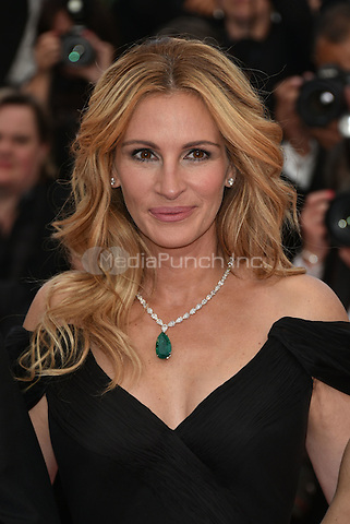 Julia Roberts at Money Monster screening during the 69th International Cannes Film Festival, France May 12, 2016.<br /> CAP/PL<br /> &copy;Phil Loftus/Capital Pictures /MediaPunch ***NORTH AND SOUTH AMERICA ONLY***