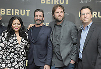 NEW YORK, NY - APRIL 10: Shivani Rawat, Jon Hamm, Brad Anderson and Andrew Karpen  attends the 'Beirut' New York Screening at The Robin Williams  Center on April 10, 2018 in New York City. <br /> CAP/MPI/JP<br /> &copy;JP/MPI/Capital Pictures
