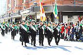 Montreal's St-Patrick's 185th parade, held in downtown Montreal on March 22nd 2009.