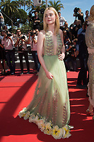 Elle Fanning at the premiere for &quot;How To Talk To Girls At Parties&quot; at the 70th Festival de Cannes, Cannes, France. 21 May 2017<br /> Picture: Paul Smith/Featureflash/SilverHub 0208 004 5359 sales@silverhubmedia.com