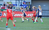 Portland, OR - Saturday July 22, 2017: Meggie Dougherty Howard during a regular season National Women's Soccer League (NWSL) match between the Portland Thorns FC and the Washington Spirit at Providence Park.
