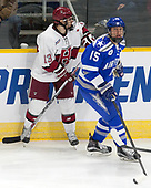 Nathan Krusko (Harvard - 13), Evan Giesler (AFA - 15) - The Harvard University Crimson defeated the Air Force Academy Falcons 3-2 in the NCAA East Regional final on Saturday, March 25, 2017, at the Dunkin' Donuts Center in Providence, Rhode Island.