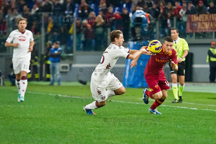 ROMA (RM) 19/11/2012: SERIE A TREDICESIMA GIORNATA ROMA - TORINO. INCONTRO VINTO DALLA ROMA PER 2 A 0. NELLA FOTO  FOTO FLORENZI ROMA ADAMO DI LORETO/