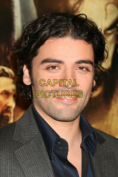 """OSCAR ISAAC.Los Angeles Premiere of """"The Nativity Story"""" at Academy of Motion Picture Arts & Sciences, Beverly Hills, California, USA..November 28th, 2006.headshot portrait.CAP/ADM/BP.©Byron Purvis/AdMedia/Capital Pictures"""