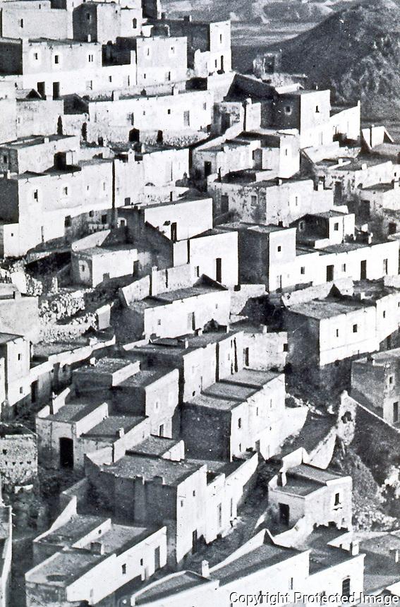 "Bernard Rudofsky:  ""Model Hill Town""--Mojacar, Almeria, Spain.  Photo '77."