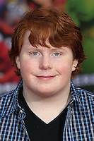 """HOLLYWOOD, LOS ANGELES, CA, USA - MARCH 11: Tucker Albrizzi at the World Premiere Of Disney's """"Muppets Most Wanted"""" held at the El Capitan Theatre on March 11, 2014 in Hollywood, Los Angeles, California, United States. (Photo by Xavier Collin/Celebrity Monitor)"""