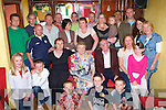 Bridget and Con Casey O'Kelly's Villas, Killarney seated centre celebrate their 50th wedding with their family anniversary in the Treyvaus restaurant Killarney on Sunday   Copyright Kerry's Eye 2008