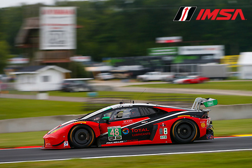 IMSA WeatherTech SportsCar Championship<br /> Continental Tire Road Race Showcase<br /> Road America, Elkhart Lake, WI USA<br /> Friday 4 August 2017<br /> 48, Lamborghini, Lamborghini Huracan GT3, GTD, Bryan Sellers, Madison Snow<br /> World Copyright: Jake Galstad<br /> LAT Images
