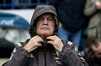 Leeds United's manager Marcelo Bielsa preparing for the weather <br /> <br /> Photographer Andrew Kearns/CameraSport<br /> <br /> The EFL Sky Bet Championship - Sheffield Wednesday v Leeds United - Saturday 26th October 2019 - Hillsborough - Sheffield<br /> <br /> World Copyright © 2019 CameraSport. All rights reserved. 43 Linden Ave. Countesthorpe. Leicester. England. LE8 5PG - Tel: +44 (0) 116 277 4147 - admin@camerasport.com - www.camerasport.com