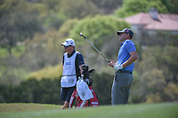 Brendan Steele (USA) watches his chip shot on 6 during round 1 of the World Golf Championships, Dell Match Play, Austin Country Club, Austin, Texas. 3/21/2018.<br /> Picture: Golffile | Ken Murray<br /> <br /> <br /> All photo usage must carry mandatory copyright credit (&copy; Golffile | Ken Murray)