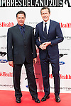 Jose Ramon de la Morena and Jorge Valdano attends to the delivery of the Men'sHealth awards at Goya Theatre in Madrid, January 28, 2016.<br /> (ALTERPHOTOS/BorjaB.Hojas)