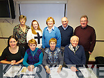 Pictured at the Community Games AGM at the Grand hotel Tralee on Sunday were front l-r: Caitriona Reynolds, Patsy O'Connell Margaret Culloty Brian Lewis. Back l-r: Mairead Moore, Sharon Fealy, Kit Horan and Owen Stack..