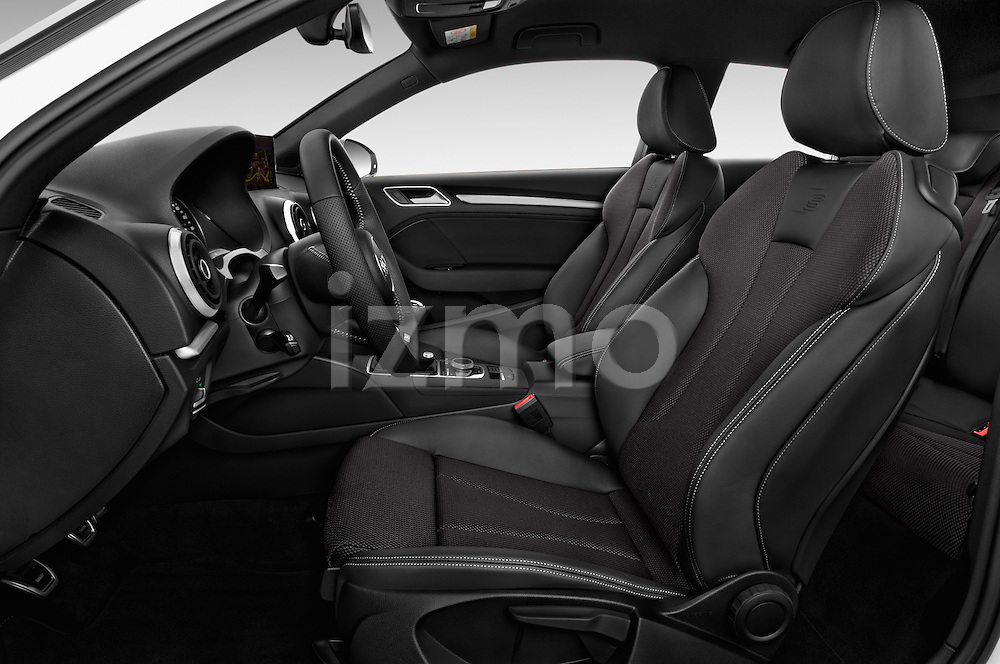 Front seat view of 2017 Audi A3 Sport 3 Door Hatchback Front Seat  car photos