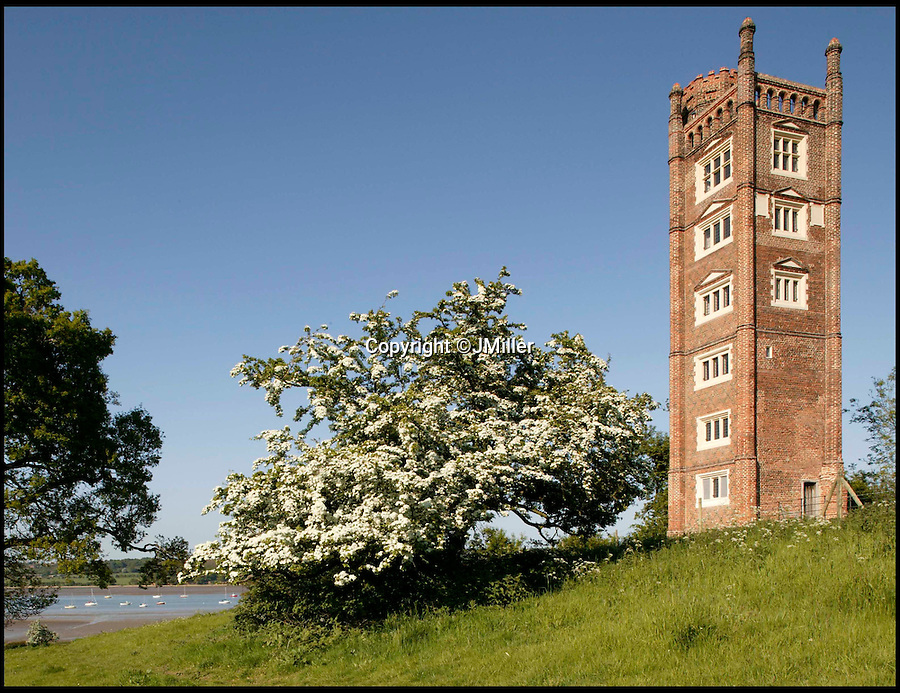 BNPS.co.uk (01202 558833)<br /> Pic: LandmarkTrust/BNPS<br /> <br /> Freston Tower, in, Suffolk. <br /> <br /> Fully booked...Holidays less ordinary spark a booking frenzy in Brits.<br /> <br /> A charity which rents out historic buildings around Britain is celebrating a boom in business that has seen some of its properties booked out years in advance.<br /> <br /> The Landmark Trust has transformed almost 200 of the country's quirkiest buildings - from medieval castles to Tudor towers and even a former pig sty - into unique holiday homes.<br /> <br /> And they have become so popular with Brits looking for unusual places to escape to that some buildings are fully booked until 2016.<br /> <br /> Top of the most popular properties are Luttrell's Tower, a Georgian folly near Southampton, Hants, and Astley Castle, a Saxon stronghold dating back to the 12th century in Nuneaton, Warks.<br /> <br /> Other favourites include a Victorian pigsty near Whitby, North Yorks, which was built in the style of a Greek temple, and the London townhouse of 20th century poet John Betjeman.<br /> <br /> The buildings have become such a hit among holidaymakers that they are willing to fork out thousands of pounds to stay in them.<br /> <br /> While prices start at 10 pounds a night for cosy cottages in winter, a seven-night stay at the most popular properties in the height of summer can cost up to 3,000 pounds.<br /> <br /> But the fees are then ploughed back into the upkeep and restoration of the properties.