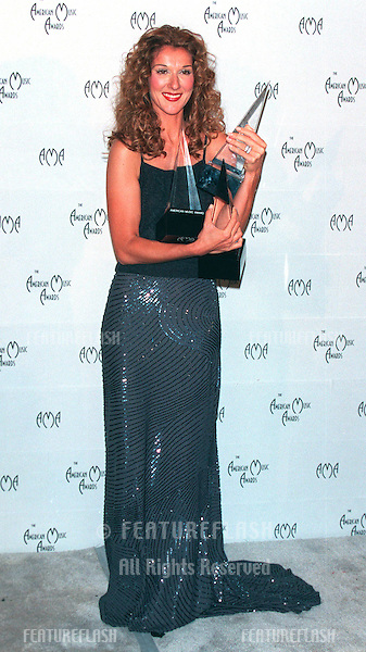 11JAN99:  Singer CELINE DION at the American Music Awards in Los Angeles..© Paul Smith / Featureflash