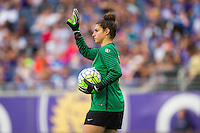 Orlando, FL - Sunday June 26, 2016: Michelle Betos  during a regular season National Women's Soccer League (NWSL) match between the Orlando Pride and the Portland Thorns FC at Camping World Stadium.