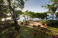 BNPS.co.uk (01202 558833)<br /> Pic: ColdwellBankerJamaicaRealty/BNPS<br /> <br /> Perfect spot for a dry martini...<br /> <br /> 00-Heaven<br /> <br /> A paradise villa nestled in the grounds of James Bond creator Ian Fleming's Jamaican estate has emerged on the market for £3.6million ($4.75m).<br /> <br /> Strangeways is on the historic estate of GoldenEye, a parcel of 15 acres of land Fleming bought in 1946 on the island's north shore.<br /> <br /> The legendary British author who died in 1964 used it as an idyllic writing base, bathing in the ocean then sunbathing in the garden before picking up his pen and getting to work for the day. Jamaica features prominently as a location in both the first James Bond film, Dr No, and the upcoming No Time To Die.<br /> <br /> The Strangeways compound, consisting of a main two storey house, two cottages and a kitchen building, sits on top of a cliff with sweeping ocean front views of the Caribbean.<br /> <br /> It is being sold with estate agent Coldwell Banker Jamaica Realty.