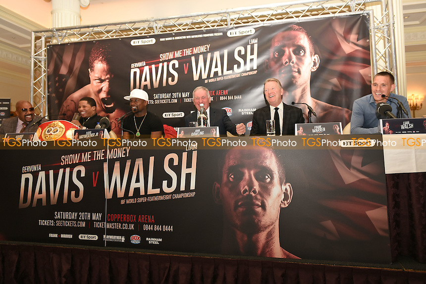 General view during a Press Conference at the Savoy Hotel on 7th March 2017