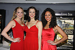 "Liz Clinard - Erin Denman - Jennifer Rias sang ""Boogie Woogie Bugle Boy"" at the 4th Annual Curtains Up for a Cure benefitting Huntington's Disease Society of America on January 31, 2011 at Village Cinema East, New York City, New York. (Photo by Sue Coflin/Max Photos)"