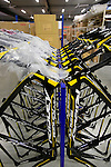 Team frames lined up at the Ridley factory in Paal-Beringen, Belgium, 21st March 2013 (Photo by Eoin Clarke 2013)