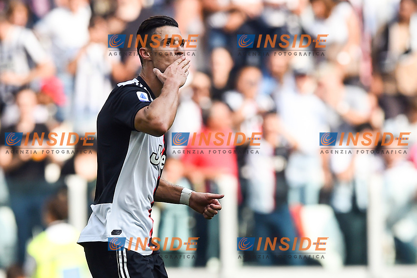 esultanza gol Cristiano Ronaldo <br /> Torino 28/09/2019 Allianz Stadium <br /> Football Serie A 2019/2020 <br /> Juventus FC - SPAL <br /> Photo Image Sport / Insidefoto