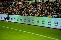 Advertising LED Boards  during the Premier League match between Swansea City and Crystal Palace at The Liberty Stadium, Swansea, Wales, UK. Saturday 23 December 2017