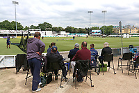 Spectators await the start of play ahead of Essex CCC vs Middlesex CCC, Specsavers County Championship Division 1 Cricket at The Cloudfm County Ground on 29th June 2017