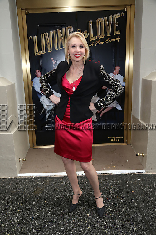 Julie Halston attends the Broadway Opening Night Performance of  'Living on Love'  at  The Longacre Theatre on April 20, 2015 in New York City.