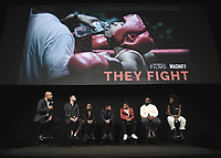 """11/7/18 - Hollywood:  Los Angeles Premiere of FOX Sports Films'  """"They Fight"""" - Panel"""