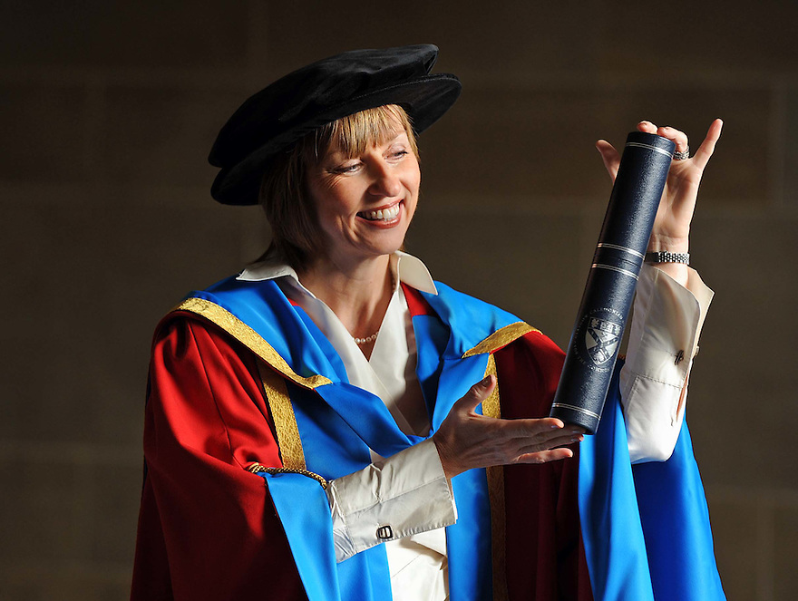 Scottish Enterprise chief executive, Lena Wilson, who was awarded an honorary degree by Glasgow Caledonian University......