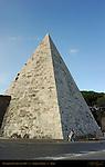 Pyramid of Cestius 12 BC Aurelian Walls Rome