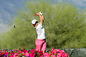 Yukari Baba (JPN),<br /> APRIL 2, 2011 - Golf :<br /> Yukari Baba of Japan in action during the third round of the LPGA Kraft Nabisco Championship golf tournament at Mission Hills Country Club in Rancho Mirage, California CA, USA. (Photo by Yasuhiro JJ Tanabe/AFLO)
