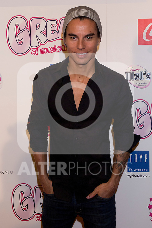 "Photocall at Theatre Artery Coliseum ""Grease, the musical"" to present to Julio Iglesias Junior as new lead singer of the function. In the picture: Julio Iglesias Junior(Alterphotos/Marta Gonzalez)"