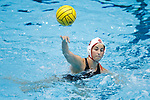 INDIANAPOLIS, IN - MAY 14: Jamie Neushul (8) of Stanford University shoots the ball during the Division I Women's Water Polo Championship held at the IU Natatorium-IUPUI Campus on May 14, 2017 in Indianapolis, Indiana. Stanford edges UCLA, 8-7, to win fifth women's water polo title in the past seven years. (Photo by Joe Robbins/NCAA Photos/NCAA Photos via Getty Images)