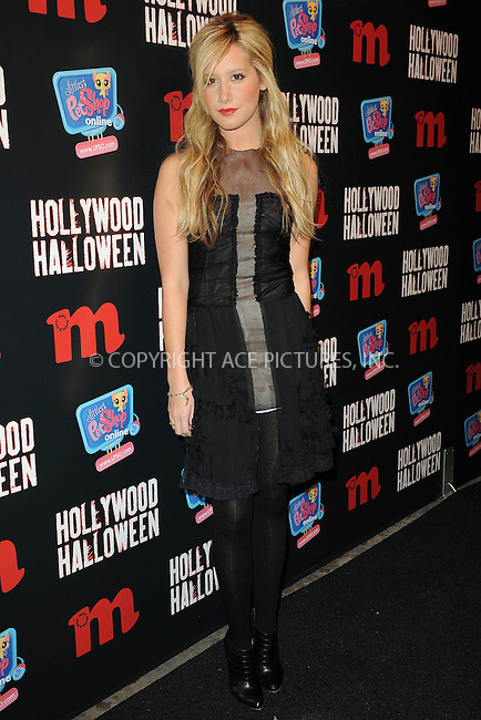 WWW.ACEPIXS.COM . . . . . ....November 11 2009, New York City....Actress and singer Ashley Tisdale at M Magazine's 2009 Hollywood Halloween event at Marquee on November 11, 2009 in New York City.....Please byline: KRISTIN CALLAHAN - ACEPIXS.COM.. . . . . . ..Ace Pictures, Inc:  ..tel: (212) 243 8787 or (646) 769 0430..e-mail: info@acepixs.com..web: http://www.acepixs.com