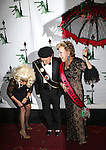 """Katie Couric, Billy Crystal and Bette Midler  attending Bette Midler's New York Restoration Project's Annual """"Hulaween in the Big Easy"""" at  the Waldorf Astoria on October 31, 2013  in New York City."""