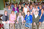 Mollie Breen, Countess Road Killarney who celebrated her 100th birthday with her family and friends in the Dromhall Hotel Killarney on Saturday with some of her relatives front row l-r: Margaret O'Connor, Esther McCarthy, Philamena O'Keeffe, Sr Colette. Back row: Noreen O'Shea, Mary Marmon, Ann Doherty, Mary Murphy, Nora Flynn, Joan O'Sullivan and Breda O'Callaghan