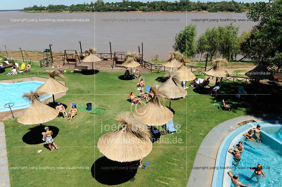 URUGUAY Salto, swimming club at river Uruguay /<br /> URUGUAY Salto, Schwimmbad am Fluss Uruguay