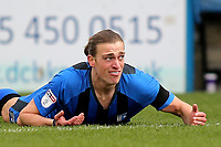 Gillingham striker, Tom Eaves, shows his frustration as 'The Gills' lose once again at home during Gillingham vs Barnsley, Sky Bet EFL League 1 Football at The Medway Priestfield Stadium on 9th February 2019