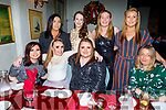 The staff of Stepping Stones Creshe enjoying their Christmas party in Cassidys on Saturday evening.<br /> Seated l to r: Rihanna Ward, Bláthnaid Quirke, Cathy Stack and Elizabeth Philipson.<br /> Back l to r: Maggie Harrington, Sarah Brosnan, Nora Begley and Sandra Foran.