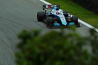 15th November 2019; Autodromo Jose Carlos Pace, Sao Paulo, Brazil; Formula One Brazil Grand Prix, Practice Day; George Russell (GBR) Williams Racing FW42 - editorial UK