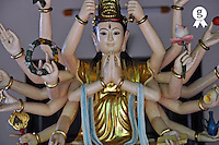 Shiva God Statue at Temple (Licence this image exclusively with Getty: http://www.gettyimages.com/detail/93187584 )