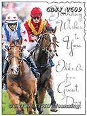 Jonny, MASCULIN, MÄNNLICH, MASCULINO,horse raceing, paintings+++++,GBJJV609,#m#, EVERYDAY