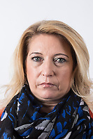 """Denise Fergus, Mother of James Bulger, photographed at her publisher's office in London. Fergus has written a book """" I Let Him Go"""", her account of her son's murder and the aftermath of living with James Bulger's loss."""