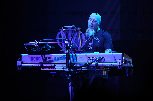 DREAM THEATER - Jordan Rudess - performing live at the Eventim Apollo in Hammersmith London UK - 23 Apr 2017.  Photo credit: Zaine Lewis/IconicPix